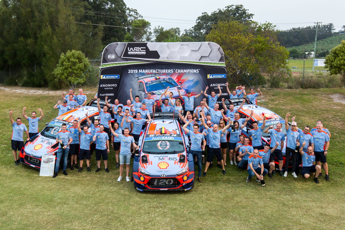 Team Hyundai Motorsport 2019