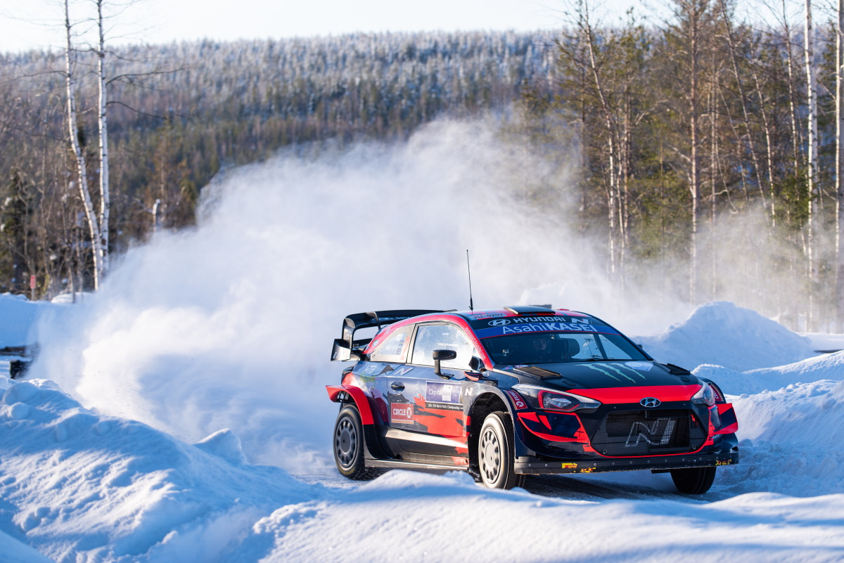 Arctic Rally Finland 2021 Oliver Solberg