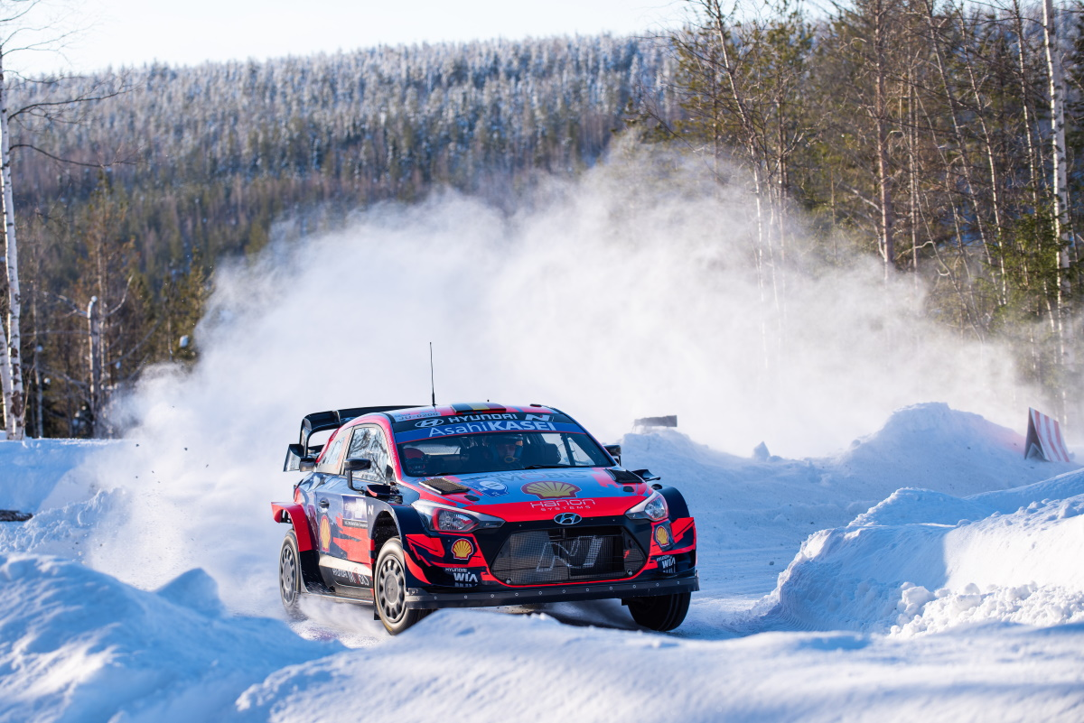 Arctic Rally Finland 2021 Thierry Neuville